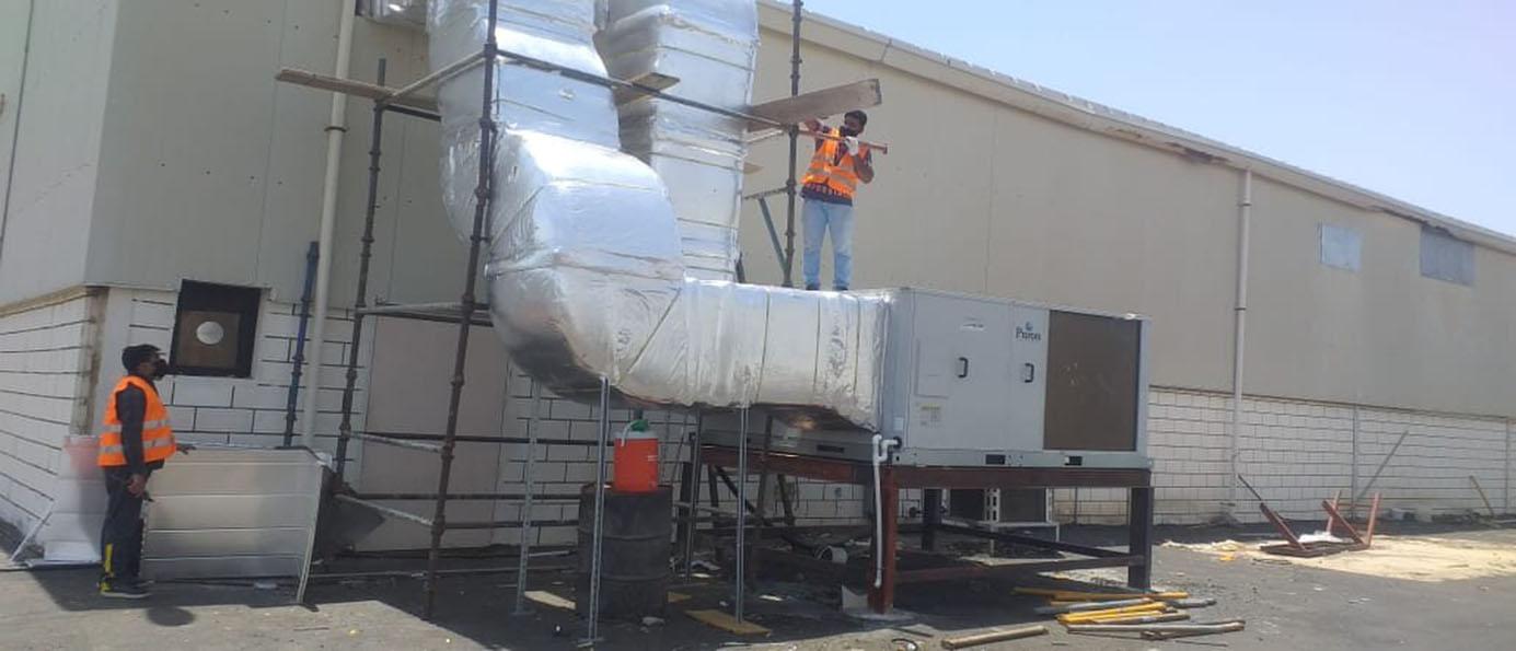 Non-medical warehouse operation project in Makkah Al-Mukarramah